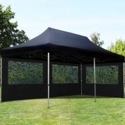 Intent24 3x6m Tente pliante , ECONOMY Alu, noir
