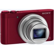 Aparat Foto Digital Sony DSC-WX500R, 18.2MP, Filmare Full HD, Zoom Optic 30x (Rosu)