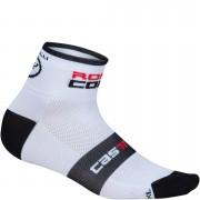 Castelli Rosso Corsa 6 Cycling Socks - White - XXL