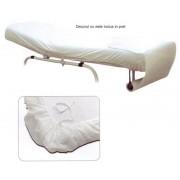 Cearceaf cu elastic pentru pat cosmetica