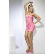 Rochie Mini Seamless roz neon