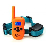 Esky Dog Training Collar Rainproof Rechargeable LCD Shock Collar, 100 Level Vibration Static Shock