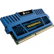 Corsair CMZ16GX3M2A1600C10B Mémoire RAM DDR3 1600 16Go CL10 Vengeance Kit2 Blue