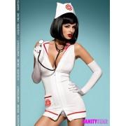 Costume infermiera con abito scollato Emergency