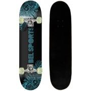 Skate Skateboard Bel Sports Preto Semi-Profissional Shape 79 cm - 402000