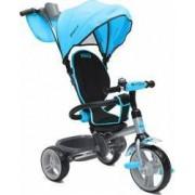 Tricicleta Copii Moni Flexy Albastru