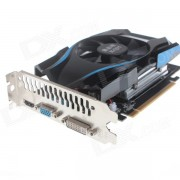 XQM GT640 2GB 128Bit Game Graphics Card w/ CRT+ DVI + HDMI - Black + Blue