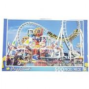 PuzzleBug 500 Piece Puzzle ~ Amusement Park Rides