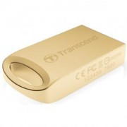 Флаш памет Transcend 32GB JetFlash 510, Gold Plating - TS32GJF510G