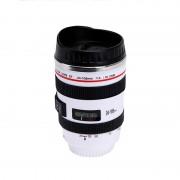 Kamera-Objektiv-Muggen Vit