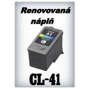 SuperNakup - Náplň do tiskárny Canon CL-41 XL - color - renovovaná