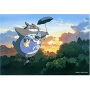 """Studio Ghibli Totoro Design 300 Pieces Jigsaw Puzzle Finished Size: 15"""" x 10"""" (japan import)"""