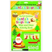 My First Christmas Wipe and Clean Activity Book - Santa's Sleigh Ride by NORTH PARADE PUBLISHING