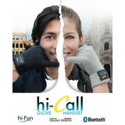 Hi-Call - Guanti Bluetooth Auricolare e Microfono - Capacitivo Hi-fun