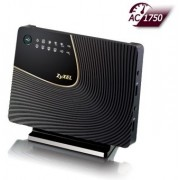 Router Wireless ZyXEL NBG6716, Gigabit, Dual Band, 1750 Mbps, 2 Antene interne