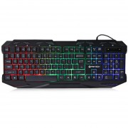 FANTECH K10 USB Profesional USB Con Cable Colorido Backlight Gaming Keyboard
