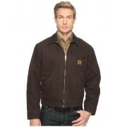 Carhartt Sandstone Detroit Jacket Dark Brown