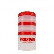 Prozis Recipiente para producto en polvo Prozis 1x250 ml + 2x100 ml