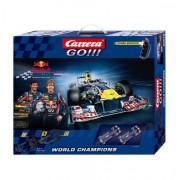 Carrera - GO 143: Red Bull Racing (Red Bull Vettel y Webber) 5.4 metros, escala 1:43 (20062278)
