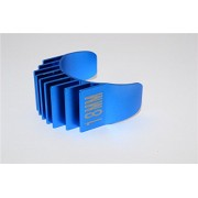 Aluminium Motor Heat Sink Mount 18mm For 1/10 05, 540, 360 Motor - 1Pc Blue