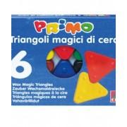 Пастел восъчен, триъглен, 6 цвята