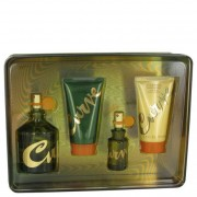 Liz Claiborne Curve Cologne Spray 4.2oz/124mL + Cologne 0.5oz/15mL + Soother 2.5oz/75mL + Hair & Body Wash 2.5oz/75mL 439472