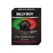 Billy Boy Fun Selection condooms (Aantal: 12 stuks)