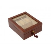 Woodford 1506 - Cofanetto porta orologi a 3 posti