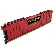 Corsair CMK8GX4M2B3600C18R Vengeance LPX 8GB (2 x 4GB) DDR4 3600Mhz C18 Mémoire pour Ordinateur de Bureau Haute Performance avec Profil XMP 2.0. Rouge