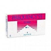 Frequency 55 Toric Contact Lenses (6 lenses/box - 1 box)