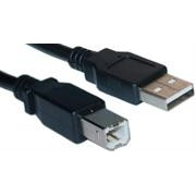 UniQue USB Cable 2.0-1.5metres A Male-B