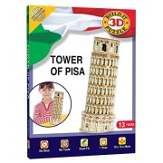 Cheatwell Games Tower Of Pisa Build Your Own Giant 3D Kit