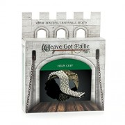 Weave Got Maille Helm Chain Maille Bracelet Kit, Silver Cuff