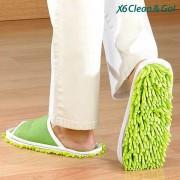 Papuci microfibra pentru curatenie