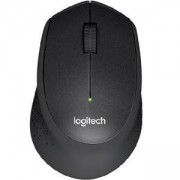 Безжична мишка Logitech Wireless Mouse M330 Silent Plus, Черна, 910-004913
