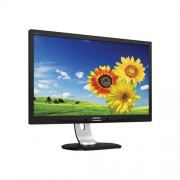 "Monitor Philips 231P4QPYEB, 23"", LED, IPS, 1920x1080, D-SUB, DVI, DP, USB, pivot, repro, čierny, strieb.stojan"