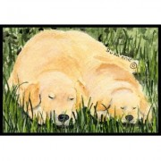 Caroline's Treasures Golden Retriever Doormat SS8838JMAT / SS8838MAT