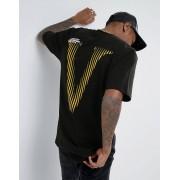 Vision Черная футболка с принтом на спине Visionair - Черный