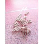 Light Pink Chocolate Bars