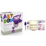 Cutie cu articole creative ALPINO ArtBox Decoupage