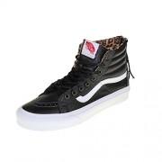 VANS - Sneaker SK8-HI SLIM ZIP - leather black