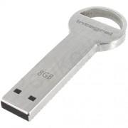 Stick USB 8GB Key Secure Lock Gri Integral