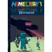 Minecraft Notebook 'Ender Dragon' (Quad Paper) by Theo von Taane