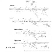 Avid, Leva freno di ricambio, in carbonio XX 2012 Carbon, Grigio (Grey)