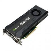 PNY NVIDIA QUADRO K5200 Carte Graphique Professionnelle 8 Go GDDR5 PCI-Express 4K 2 x DP + 2 x DVI + Stereo (VCQK5200-PB)