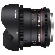 Samyang 12mm T3.1 VDSLR ED AS NCS Fish-eye (Samsung NX)