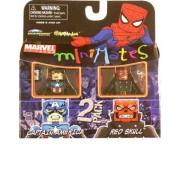 Marvel MiniMates Series 25 New Captain America and Red Skull