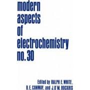 Modern Aspects of Electrochemistry: No. 30 by Ralph E. White