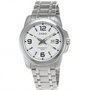 Casio Quartz White Round Men Watch MTP-1314D-7AVDF(A552)
