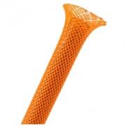 Sleeving Techflex Flexo PET Sleeve 13mm, orange, lungime 1m